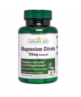 Magnesium Citrate 125mg Natures Aid 1
