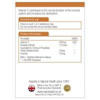 Витамин С 500mg дъвчащи (смучещи) Без захар 3