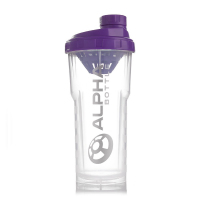 Alpha Bottle 750ml Purple