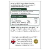 Vitamin K2 (100mcg) MenaQ7 Natures Aid 2