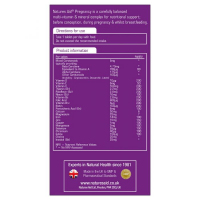 МултиВитамини и Минерали за бременни Natures Aid 5