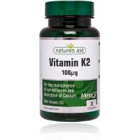 Vitamin K2 (100mcg) MenaQ7 Natures Aid