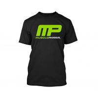 T-Shirt Black Muscle Pharm