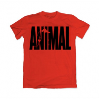 Animal Iconic T-Shirt Red
